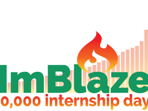 ImBlaze Records 50 Thousand Internship Days