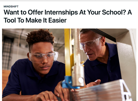 Want to Offer Internships At Your School? A Tool To Make It Easier