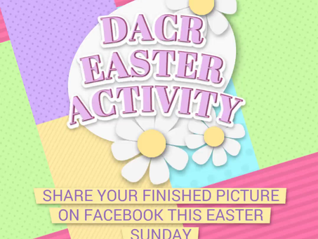 FILL OUR PAGE WITH EASTER HAPPINESS THIS SUNDAY