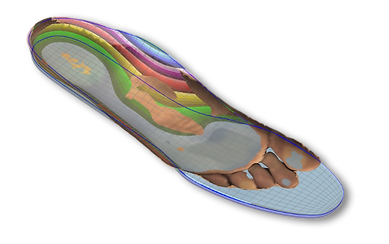 shoe insole, orthotic, 3D scan, laser scan, custum insole, lab, florida, Cape Coral, foot pain, pain relief, arch support
