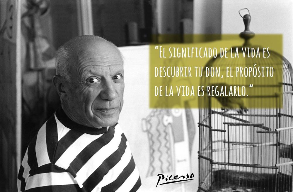 Picasso tu don propósito regalo