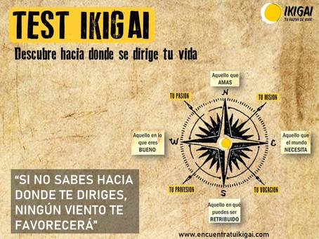 Test IKIGAI gratis de orientación y sentido de vida