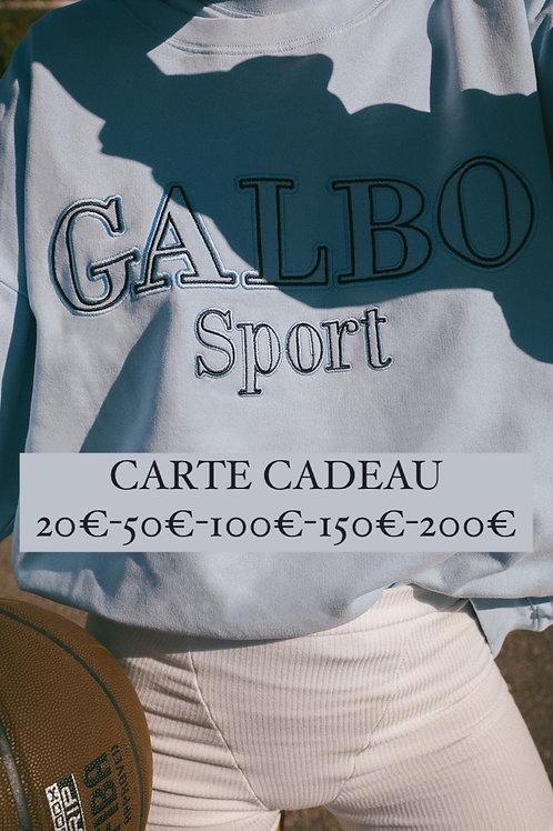 CARTE CADEAU 20€ - 50€ - 100€- 150€ - 200€