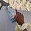 Thumbnail: Chouchou vichy jaune