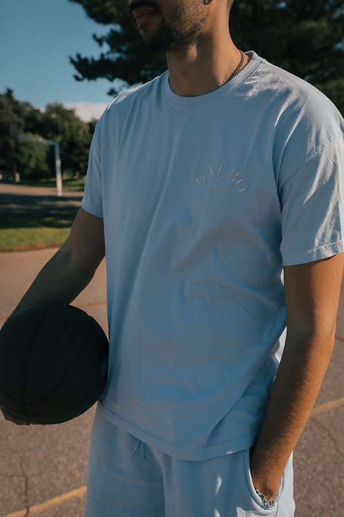 Le T-shirt Galbo Sport « Baby Blue»