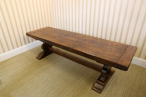 Oak Refectory Table, c. 1940