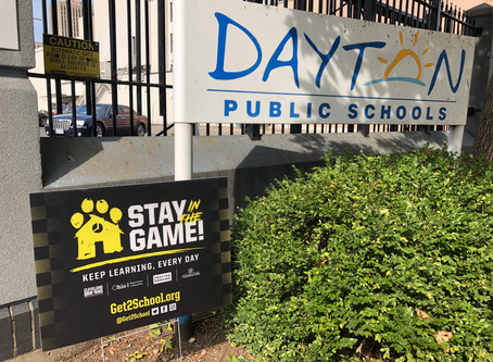 "DPS Partners with the Cleveland Browns Foundation and the ""Stay in the Game!"" Campaign"