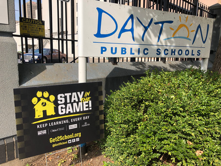 """DPS Partners with the Cleveland Browns Foundation and the """"Stay in the Game!"""" Campaign"""
