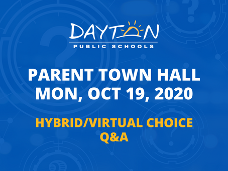 Virtual Parent Town Hall
