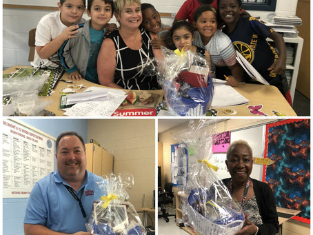 We Surprised 3 Teachers with Perfect Attendance