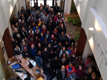 DPS Staff Participate in Attendance Walk Around