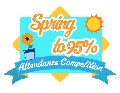 """Spring"" To 95% Competition + April Attendance Pledge"