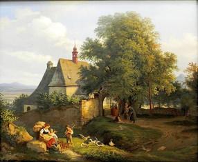 Ludwig Richter en het Idyllische verleden
