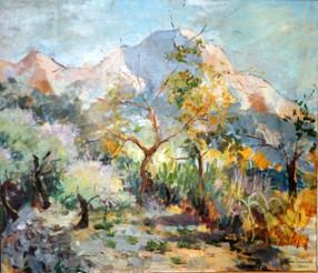 Overwegingen bij een schilderij van Tom Wermenbol