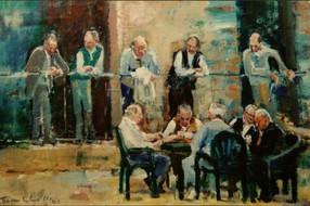 Overwegingen bij een schildering van Tom Wermenbol