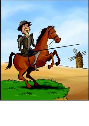 Don Quichot spreekt