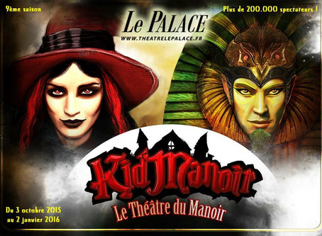 Les spectacles du Manoir de retour à Paris
