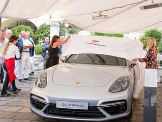 """Offizielle Porsche Vorstellung des """"Panamera Sport Turismo"""" in der Regina Margherita"""