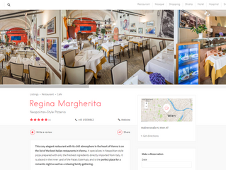 """Regina Margherita"" Neapolitan-Style Pizzeria on the Halal City Guide!"