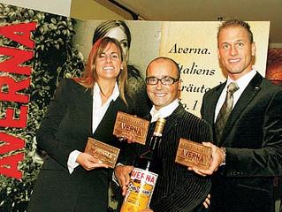 Luigi Barbaro als AVERNA - Botschafter geehrt!
