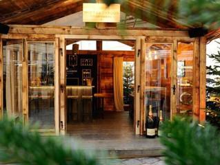 Das MOËT & CHANDON WINTER CHALET – eingebettet in einen Tannenwald und doch im Herzen von Wien –