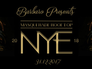 - BARBARO PRESENTS - 🎭NEW YEARS EVE: MASQUERADE ROOFTOP🎭