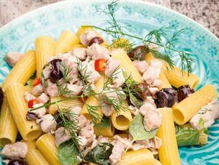 Süditalien von seiner kulinarischen Seite: Rigatoni mit Thunfisch und Sardellen