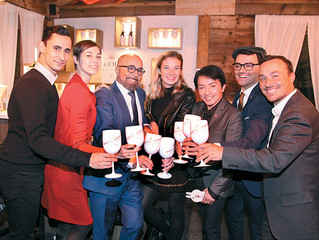 Das Moet & Chandon Winter Chalet on ICE im Innenhof der Regina Margherita ist Eröffnet!