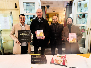 DOMPFARRER UND GASTRO-FAMILIE BARBARO LUDEN OBDACHLOSE EIN - Charity: Weihnachten der Einsamen
