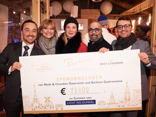 MOET & CHANDON Winter Chalet Closing Party zu Gunsten von Licht ins Dunkel!