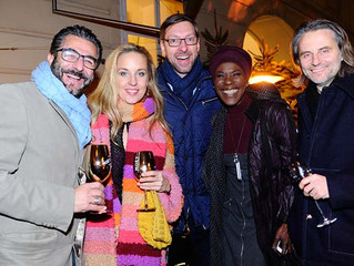 Grand Opening des Moët & Chandon Winter Chalets