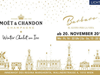 @ViennaInside Ankündigung: Moët & Chandon Winter Chalet on Ice
