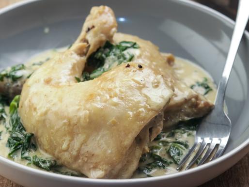 Keto Diet - Chicken Florentine