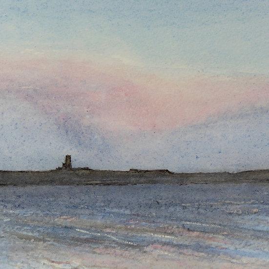 Egilsay I, Watercolour study,  Joseph Hewes