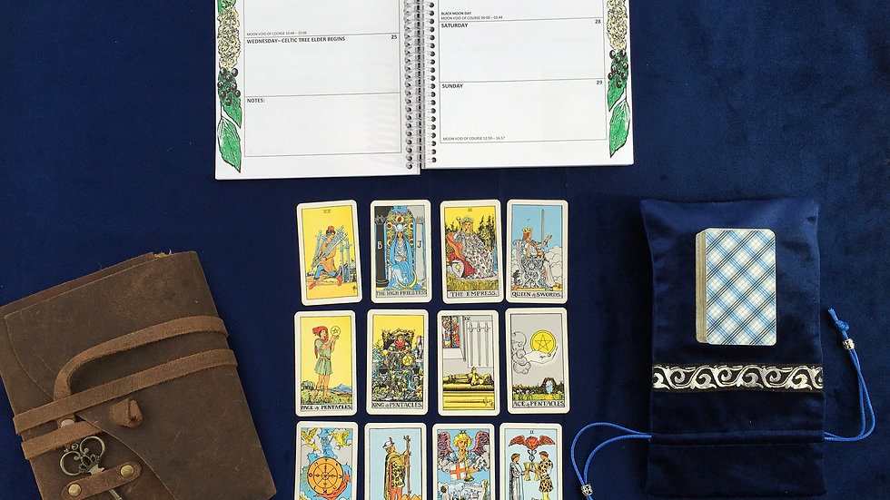 Psychic Tarot 12-Card Reading