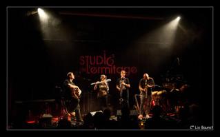Clax Quartet et Żądza au Studio de l'ermitage en photos...