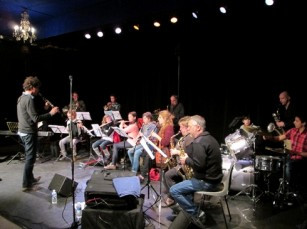 Big band éphémère, CLAX à Jazz dans la Vallée