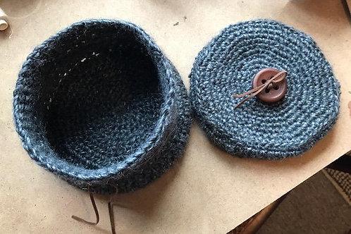 Crocheted Storage