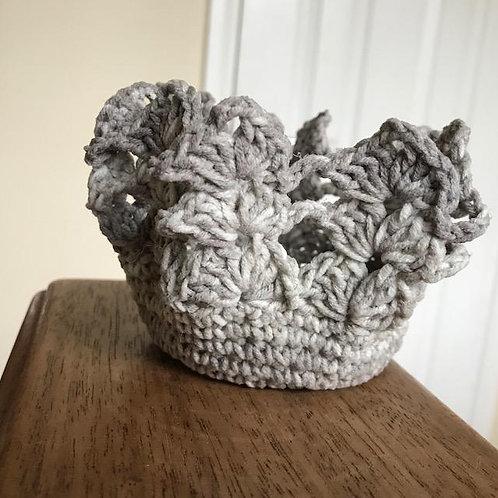 Crocheted Decorative Dish