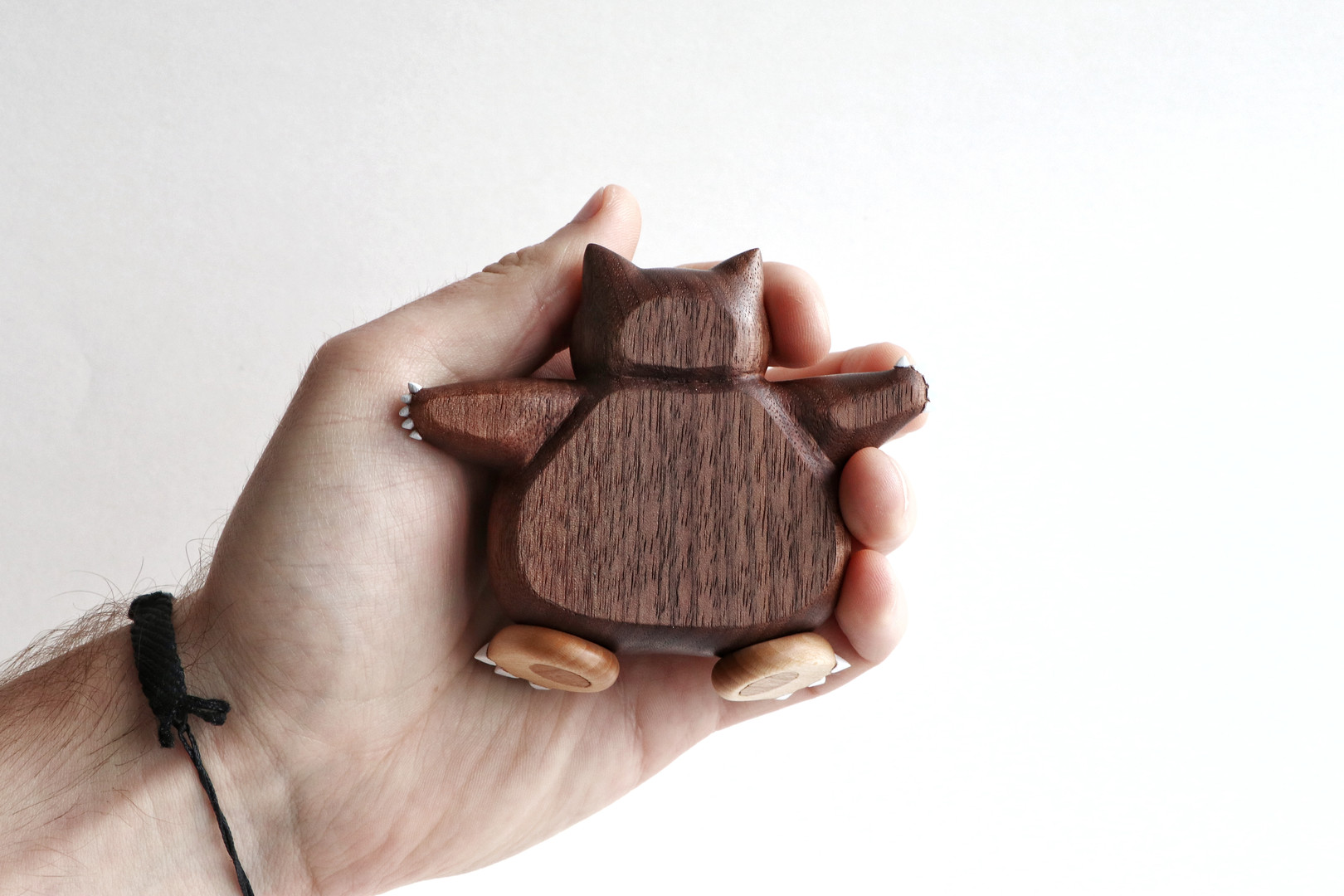 Snorlax wood carving wooden pokemon hand carved figure