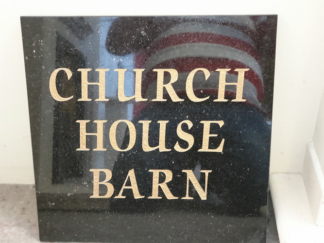 House sign 1