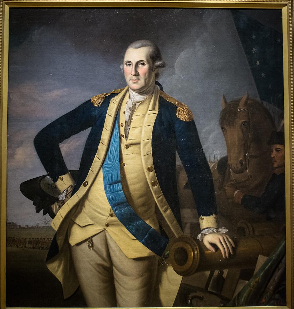 George Washington at Princeton by Charles Wilson Peale, 1779