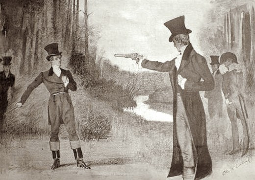 Duel Between Andrew Jackson and Charles Dickinson