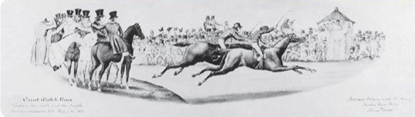 Race Between American Eclipse and Sir Henry