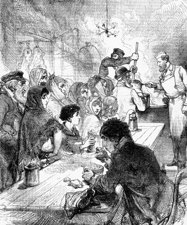 Early 19th Century Soup Kitchen