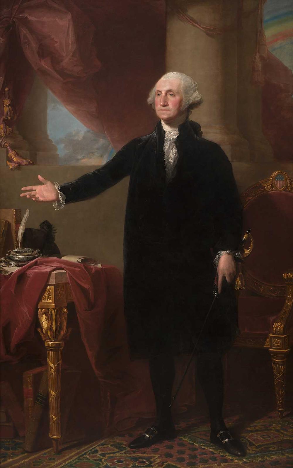 George Washington by Gilbert Stuart, 1796