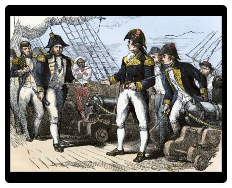 Barron Attempting to Surrender the Chesapeake