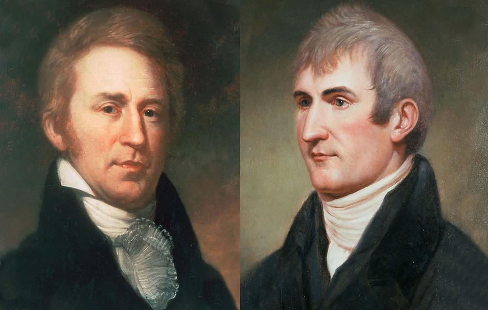 William Clark and Meriwether Lewis