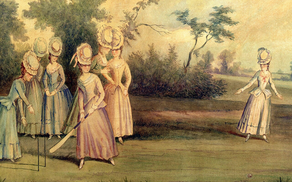 Female Cricketers - 1745