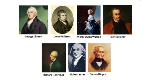 Some of the Authors of the Anti-Federalist Papers